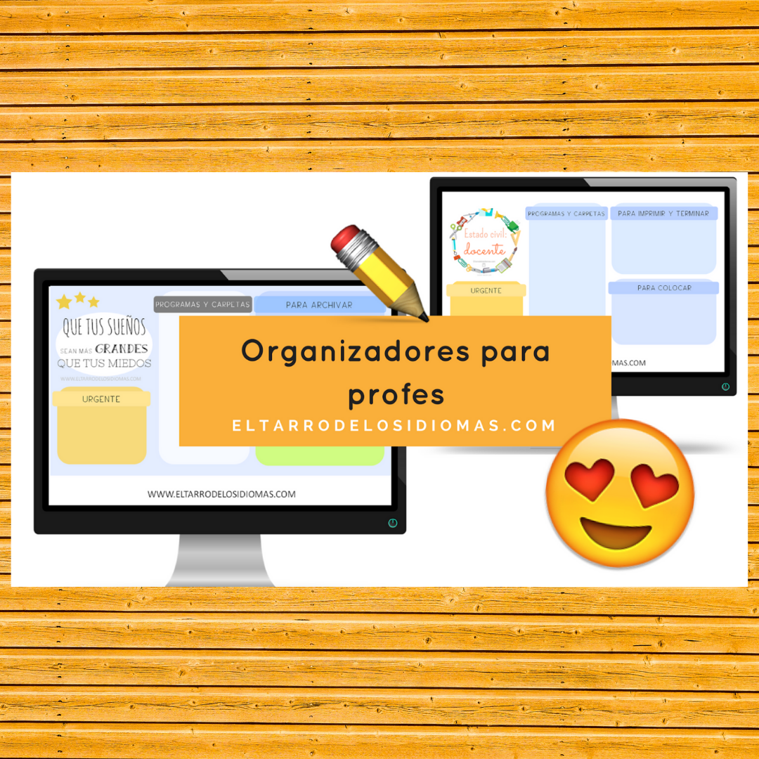 Organizador profe / Things to do
