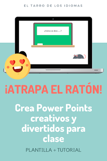 Juegos con Power Point para clase. Descarga y tutorial para crear tus propios Power Point para clase. Juegos y gamificación #profedeele #teacher