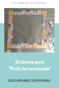 Profe he terminado. Ideas para Early Finishers. #profedeele #spanishteacher #claustrodeIG