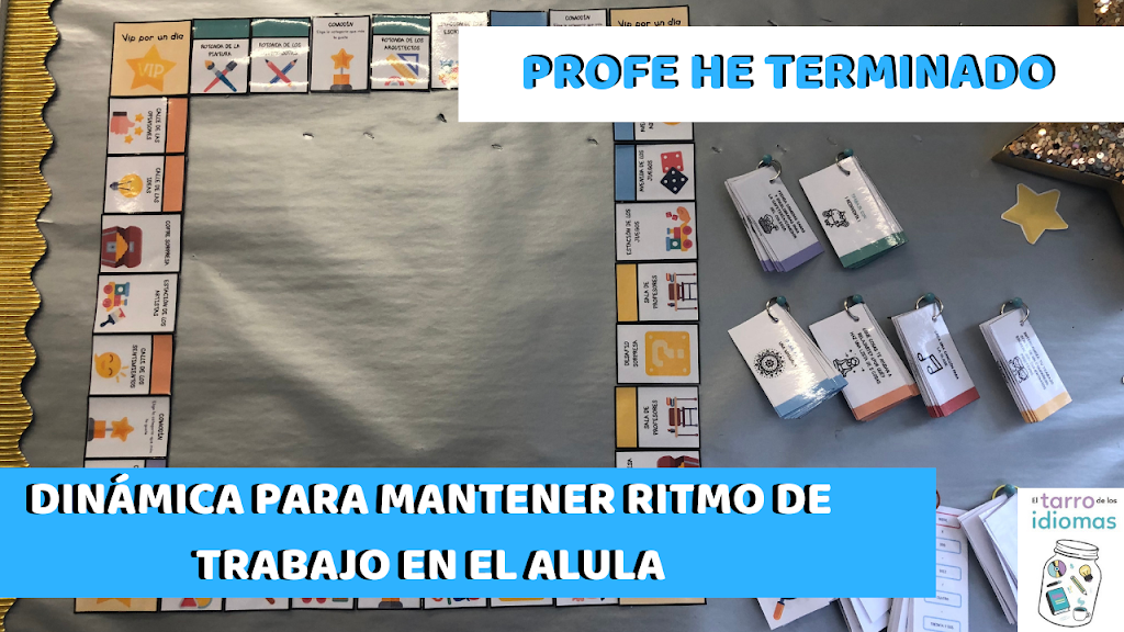 Profe he terminado. Monopoly. Pack Early Finishers